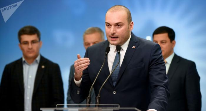 El primer ministro georgiano Mamuka Bajtadze anuncia su dimisión