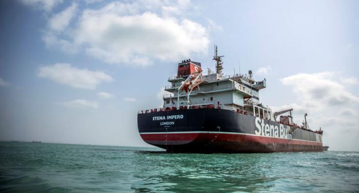 Irán anuncia la liberación de 7 tripulantes del petrolero británico Stena Impero