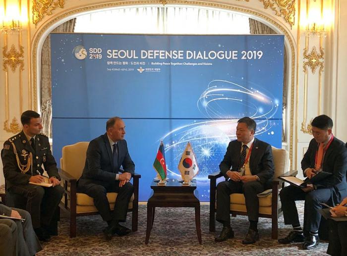Azerbaijan, South Korea discuss prospects for development of military co-op