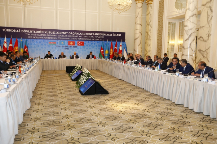 Baku hosts session of Conference of Special Service Bodies of Turkic-speaking states