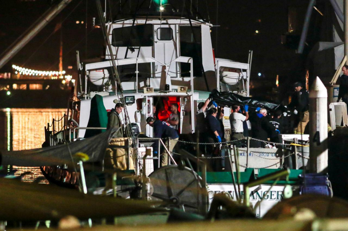California boat fire may put spotlight on Titanic