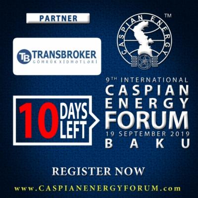 """""""Transbroker"""" se convierte en socio del Caspian Energy Forum Bakú-2019"""