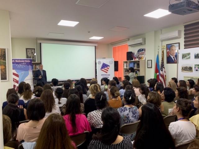 US Embassy, Baku American Center launch English Language Week