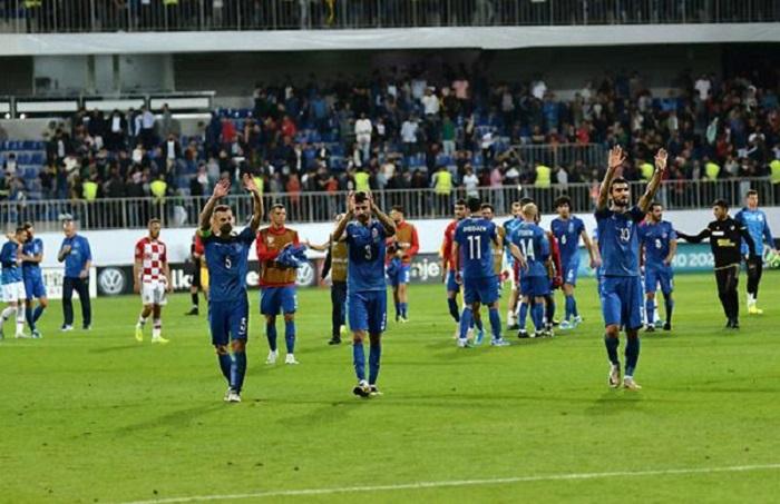 Azerbaiyán 1-1 Croacia:   resumen, resultado y goles