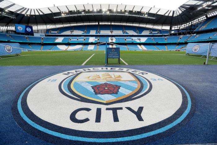 Man City assemble football
