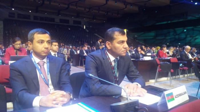 Azerbaiyán participa en la sesión de la Asamblea General de la Organización Mundial del Turismo