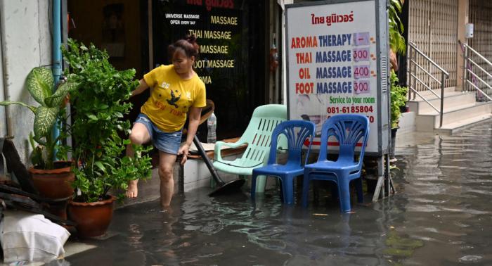 Varios muertos por las inundaciones en Tailandia