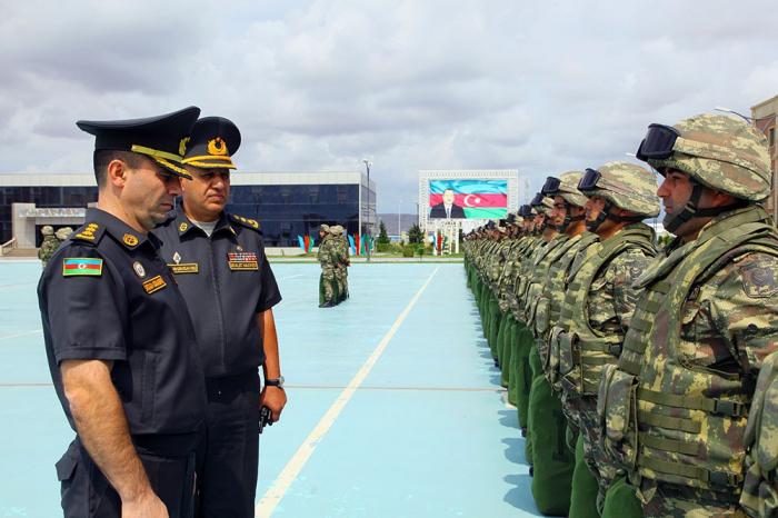 Los militares azerbaiyanos se van a Alemania