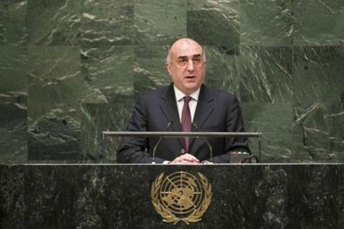 Ministro de Exteriores azerbaiyano intervendrá en la 74ª sesión de la Asamblea General de la ONU
