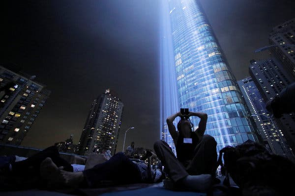 9/11 tribute lights are 'endangering 160,000 birds a year'