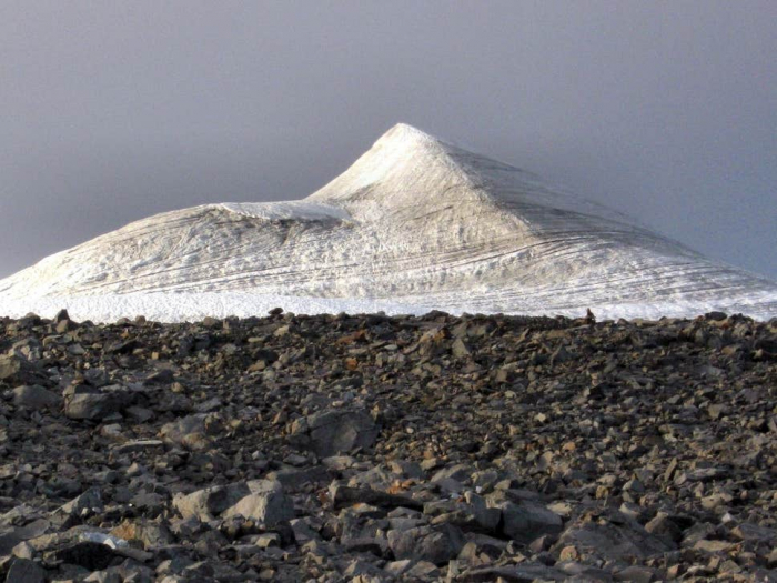 Sweden's former tallest mountain now at 'lowest height ever'