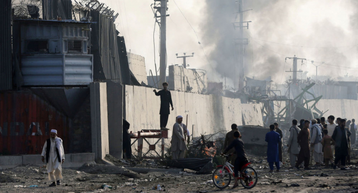 Am 9/11-Jahrestag:   Explosion in afghanischer Hauptstadt nahe US-Botschaft gemeldet
