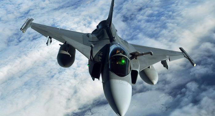Brasil recibe en Suecia el primer caza Gripen F-39
