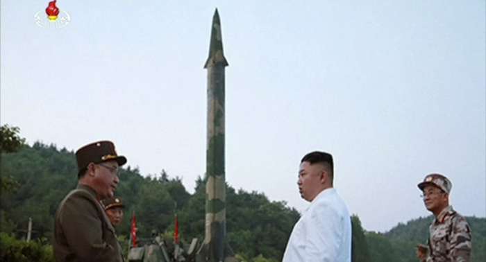 "Nordkorea:   Kim testet ""supergroßen"" Raketenwerfer –   Fotos"