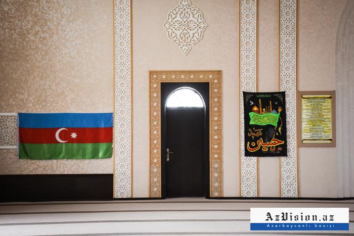 Moschee erinnert an diein Jojug Marjanli gebauteSchuscha-Moschee -  Fotos
