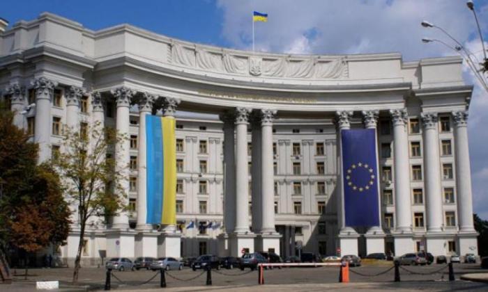 """Ukrayna XİN: Qarabağda keçirilən """"seçkilər"""" qanunsuzdur"""