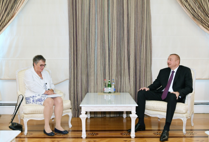 AŞPA prezidenti İlham Əliyevin qəbulunda - FOTO (Yenilənib)