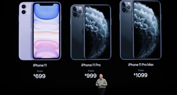 Kalifornien:   Apple stellt neue iPhones vor