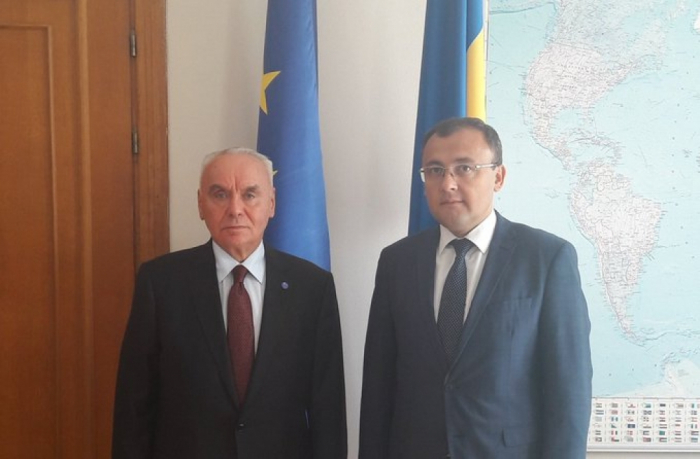 Ukraine und Aserbaidschan diskutieren Aussichten für Zusammenarbeit