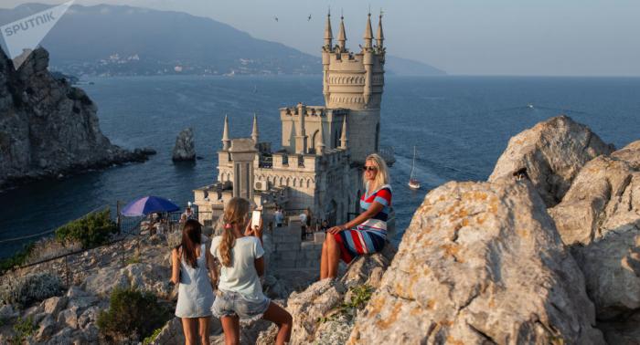 """US-Aktivist Robinson bezeichnet Krim als """"schönsten Ort der Welt"""""""
