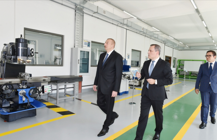 President Ilham Aliyev inaugurates Baku State Vocational Education Centre on Industry and Innovation - PHOTOS