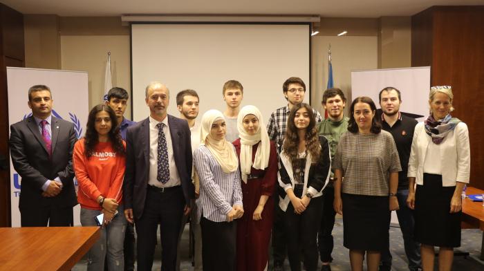 UNHCR vergibt DAFI-Stipendium an Flüchtlingsstudenten in Aserbaidschan
