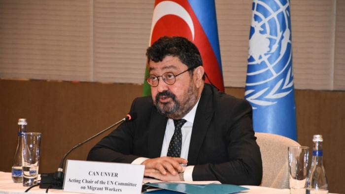 UN-Beamter:  Aserbaidschanische Regierung erzielt große Erfolge auf demMigrationsgebiet