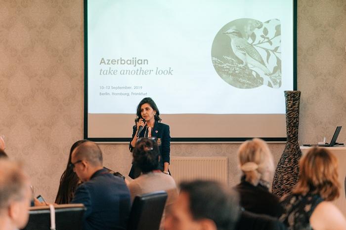 Azerbaiyán promueve su potencial turístico en Alemania