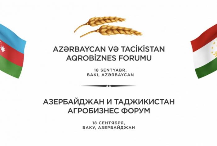 Aserbaidschanisch-tadschikisches Agribusiness-Forum in Baku