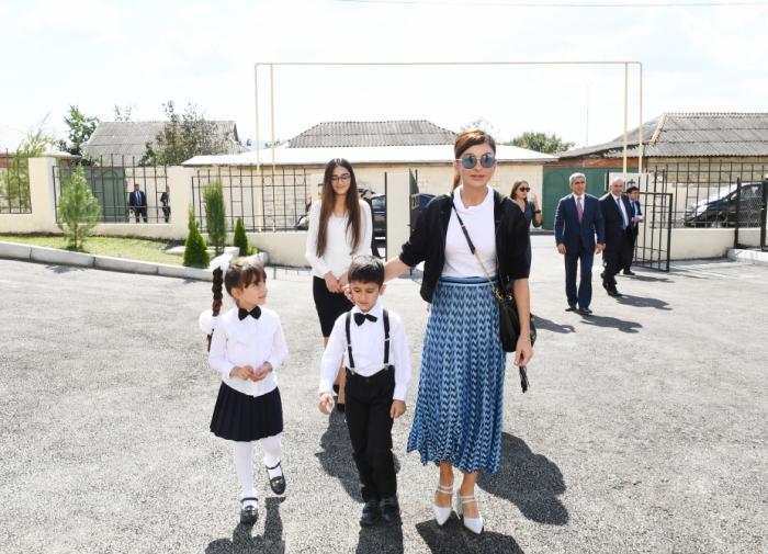 İsmayıllıda yeni uşaq bağçası açıldı - FOTOLAR (Yenilənib)