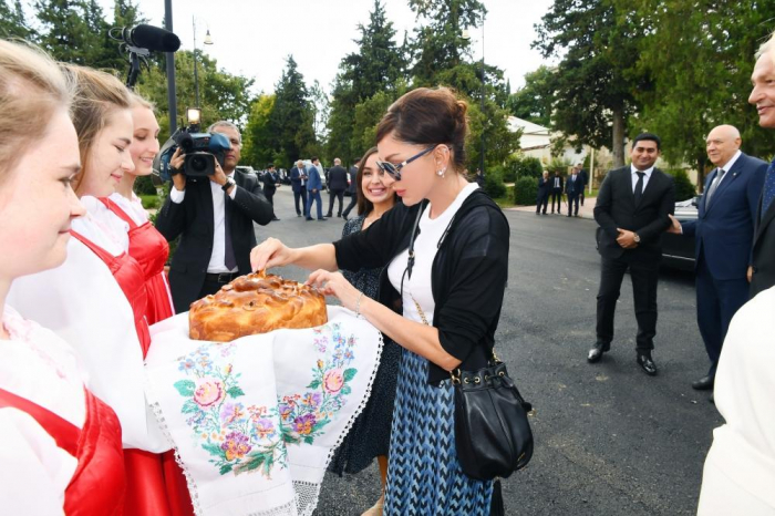 First Vice-President Mehriban Aliyeva attends inauguration of reconstructed Palace of Culture in Ivanovka village
