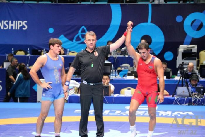Güləşçilərimiz dünya çempionatında iki medal qazandı