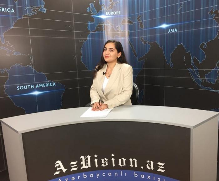 AzVision TV:  Die wichtigsten Videonachrichten des Tages auf Englisch  (19. September)-VIDEO