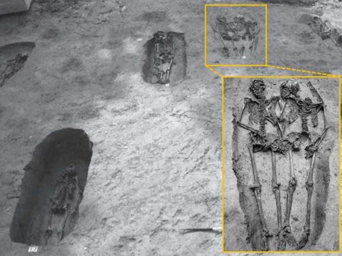 Ancient hand-holding 'Lovers of Modena' skeletons were both men