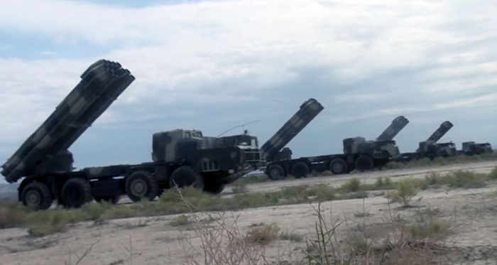 Azerbaijani troops involved in large-scale exercises occupy concentration areas -   VIDEO