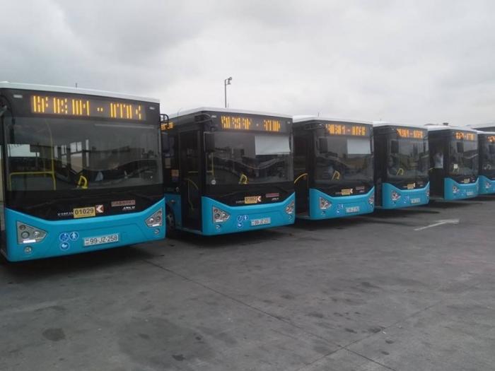 7 ayda Azərbaycana 139 avtobus gətirilib
