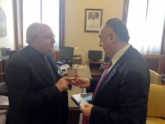 Vatican:   Mammadyarov rencontre le préfet de la Congrégation pour les églises orientales