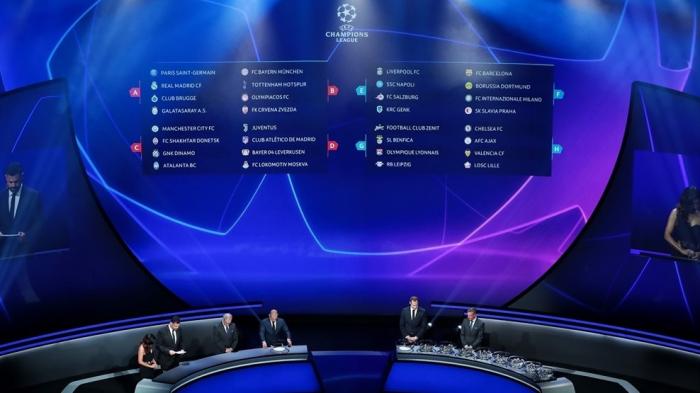 UEFA:  Partidos de la Liga de Campeones para el Martes 17 de septiembre