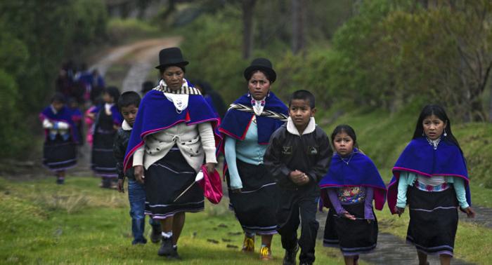 Población indígena de Colombia creció un 36,8% desde 2005