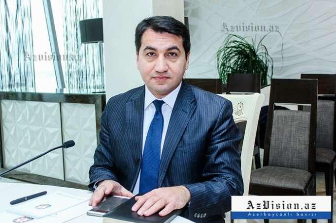 Hikmat Hajiyev:  Aserbaidschan hat keinen Status bei CSTO beantragt