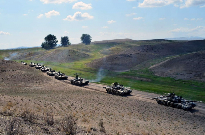 Azerbaijani troops redeployed during large-scale exercises -   VIDEO