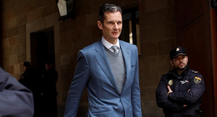 El cuñado del rey de España saldrá de prisión dos veces por semana para hacer voluntariado