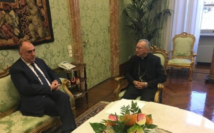 Mammadyarov se reúne con el rector delPontificio Instituto Oriental