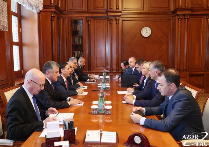 Aserbaidschans Premierminister trifft georgische Ministerin für Wirtschaft und nachhaltige Entwicklung