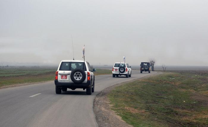La OSCE realizamonitoreo en la línea de contacto entre las tropas de Azerbaiyán y Armenia
