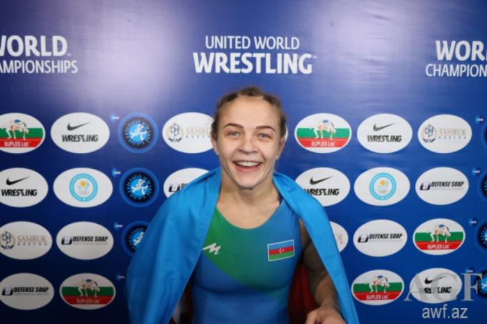 La lutteuse azerbaïdjanaise Maria Stadnik devient championne du monde