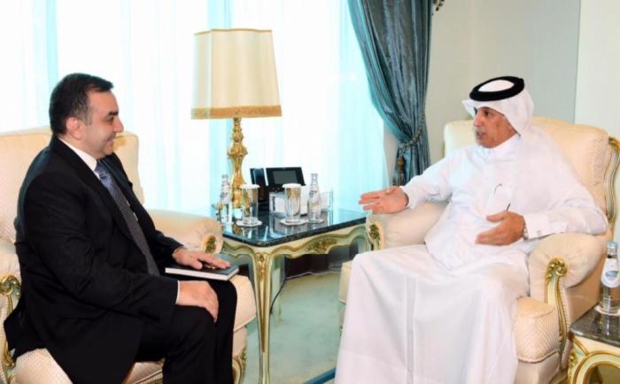 Azerbaiyán y Qatar debaten las perspectivas de desarrollo de la cooperación