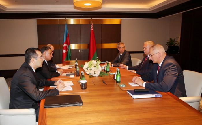 Le secrétaire du Conseil de sécurité de l'Azerbaïdjan a reçu son homologuebiélorusse
