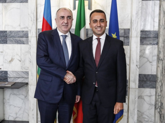 """""""Italy is interested in benefiting from new economic opportunities in Azerbaijan"""""""