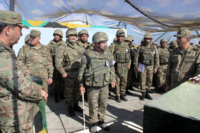 Area reconnaissance conducted during Azerbaijani army's exercises -   VIDEO, PHOTOS